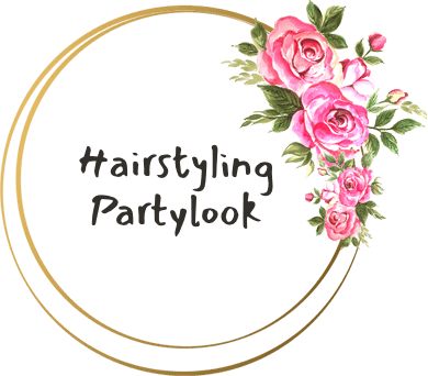Hairstyling partylook